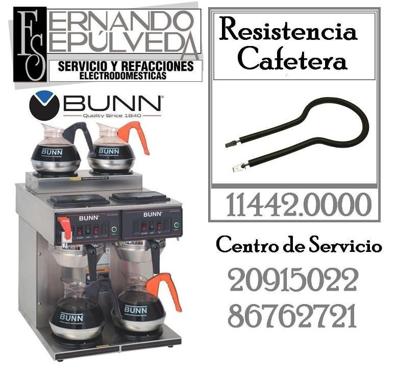 Resistencia Cafetera BUNN (Warmer element)