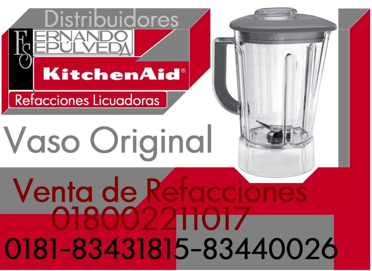Vaso Original de Licuadora Kitchenaid