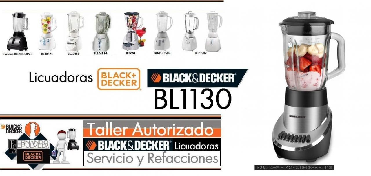 LICUADORAS BLACK AND DECKER  BL113
