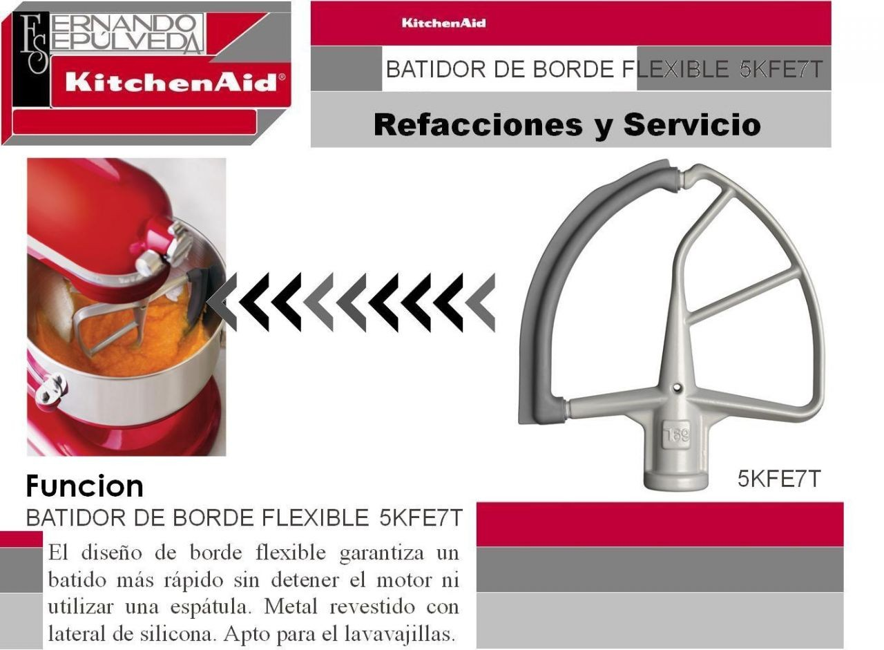 Batidor de Borde Flexible 5KFE7T