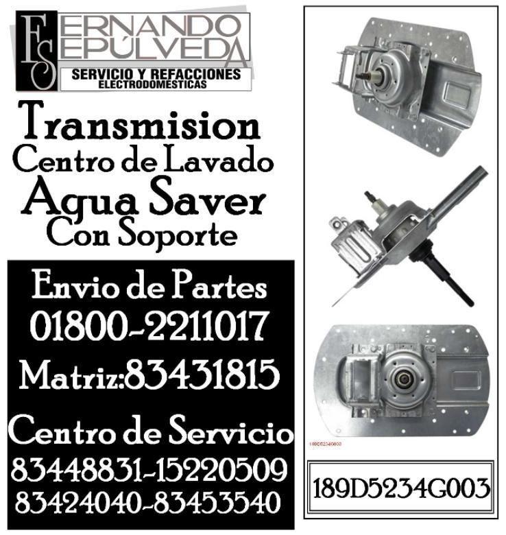 Transmisi U00f3n Lavadora Mabe Aqua Saver Con Soporte