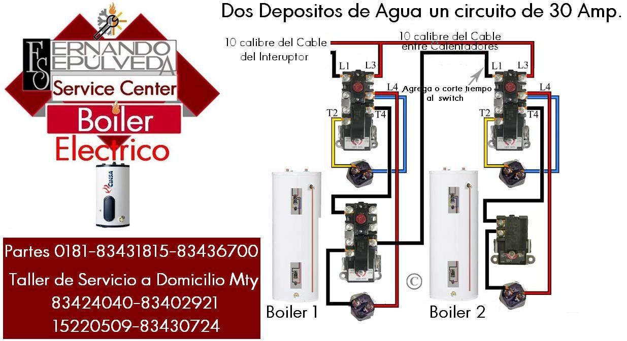 Rheem Ac Diagram Not Lossing Wiring Schematics Diagrama De Instalaci U00d3n Del Boiler El U00c9ctrico Agua O Hvac Units Unit